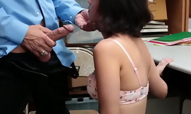 Corrupt Teen Blackmailed and Hardfucked