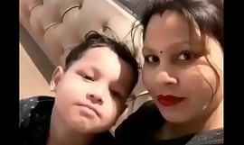Beautiful Aunty sex with teen