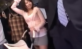 Hot mom loves in public