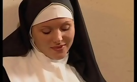 Young nun loves anal sex and sucking huge dicks