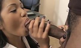 Virgin Thai Schoolgirl Seduce Black Uncultivated Cock be incumbent on Primary Fuck in classroom
