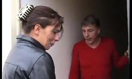 Dutch mother teaches dumb lassie dealings