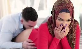 Unused Muslim Sister In Hijab bonks Brother- Maya Farrell