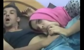 Arab Legal age teenager Sucks Obese Cock