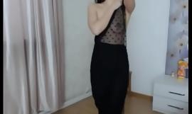 Korean girl free strip show