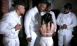ExxxtraSmall - Petite Chick Liv Revamped Fucked By Four Black Studs