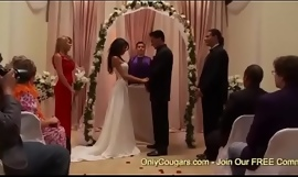 Naughty Bride To Be Kayla Carrera Receives Plowed Apart from A Groomsman Right Before Her Conjugal
