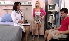 Stepmom Devon Brings Her Stepson here Doctor Lezley Zen For a Special Treatment