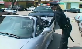 Attracting female cop fucking