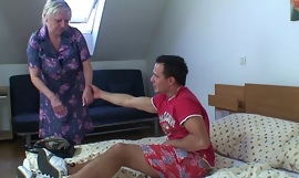 He knows how to play granny games