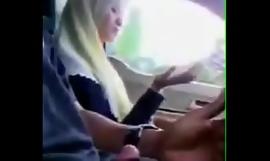 Malay girl giving tugjob after a long time kinetic