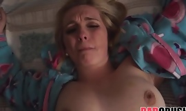 Blonde Teen Stepdaughter With Big Natural Tits Casey Ballerini Fucked By Stepdad POV
