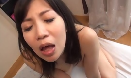 Bodacious Japanese girl loves the feeling of hot jizz in her mouth