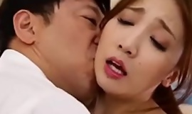 Japanese Wife Cheating with Husband's Boss Full HD