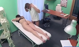 Fake Hospital Czech babe has multiple orgasms while screwing doctor