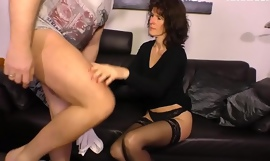 Unpaid EURO - German Elke S. Be useful to Be passed on First Time Try Sex On Camera