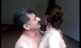 Arab aunty sucked n fucked lacking abroad of one's be careful shush wid noisy bellyaching cramp