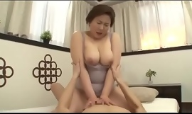 Beautiful Mom Japanese Fucked by young gentleman