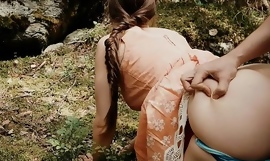 Public Fuck in the Forest with Instagram Model