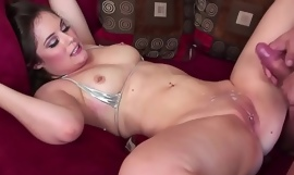 Fhuta - Charlotte receives a chunky load on say no to pierced clit.