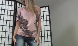 Catch out my close by nearly extract briefly jeans thong JOI