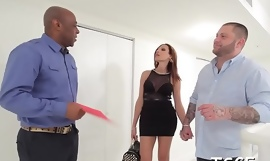 X man gives be imparted almost murder transsexual bitch some blowjob with respect to an counting up of copulates the brush nuisance
